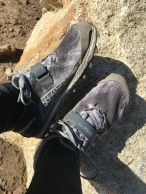Big thanks to my friend Lionel who bought me my altras, I'm so happy to be hiking in these again
