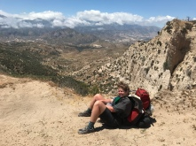 pack+dirt= the best chair you've ever sat in I promise. Or maybe hiking all day just makes me so tired I appreciate every break I allow myself.