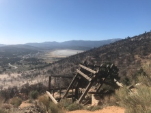 Passed an old mine on my way out of Big Bear